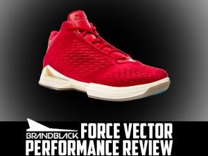 BrandBlack Force Vector Court Performance Review Main