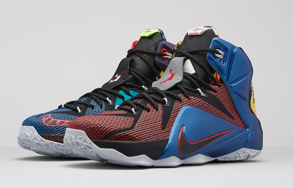 watch 84fbb 53591 Get an Official Look at the Nike LeBron 12 'What The ...