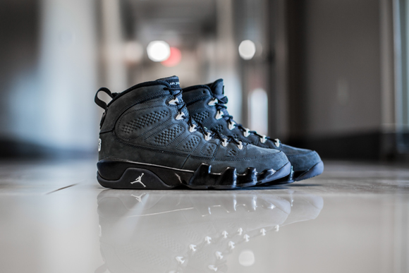 pretty nice cfe87 69cc4 ... Get up close and personal with the Air Jordan 9 Retro  Anthracite  .
