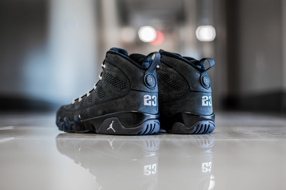 hot sale online 80935 9912e Get up close and personal with the Air Jordan 9 Retro  Anthracite ...