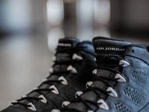Get up close and personal with the Air Jordan 9 Retro 'Anthracite'  7