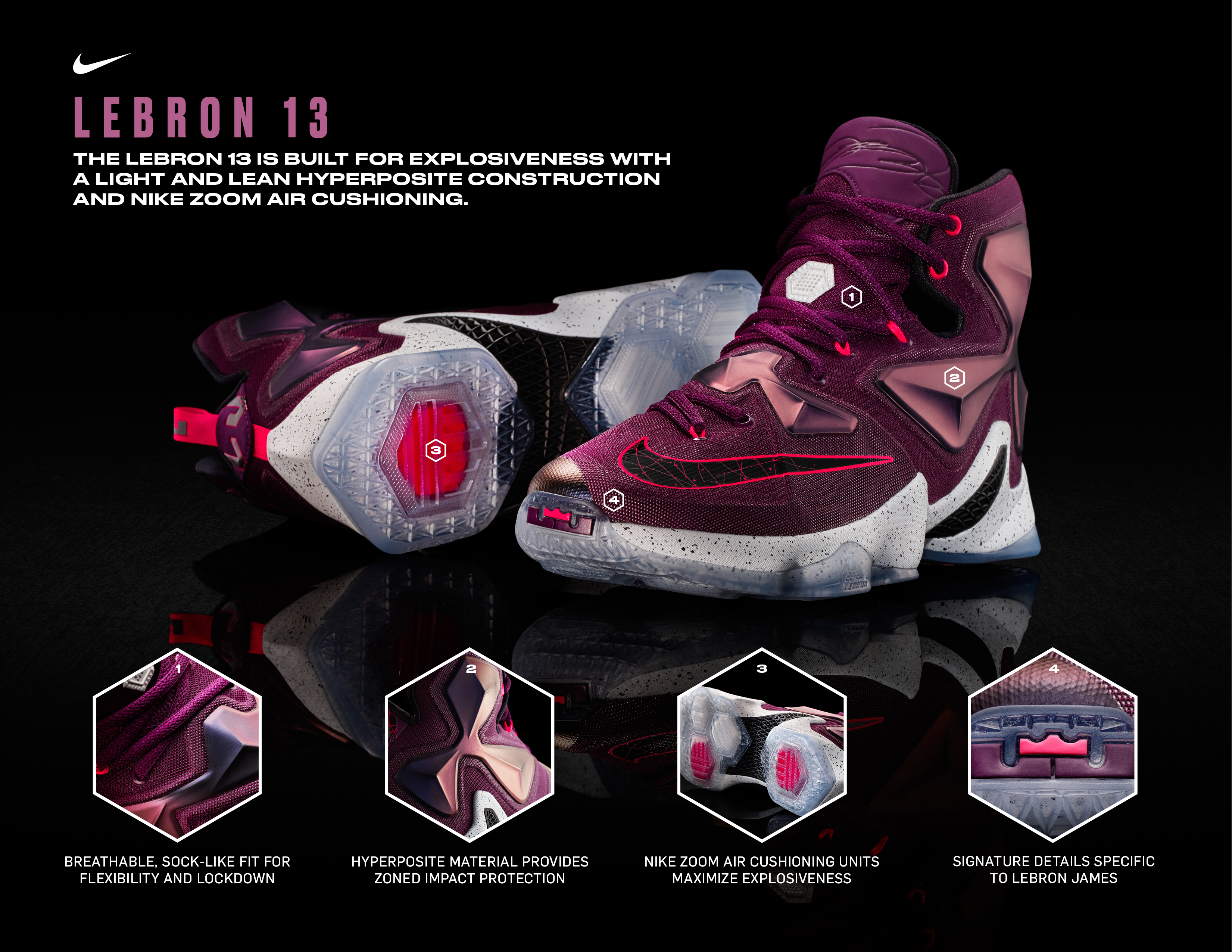 Nike Officially Unveils the LeBron 13 + Release Info ...