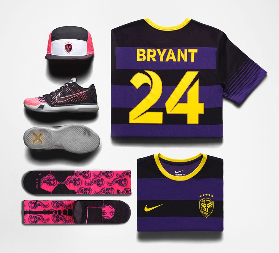 ... Nike Kobe X Elite 'Mambacurial' apparel