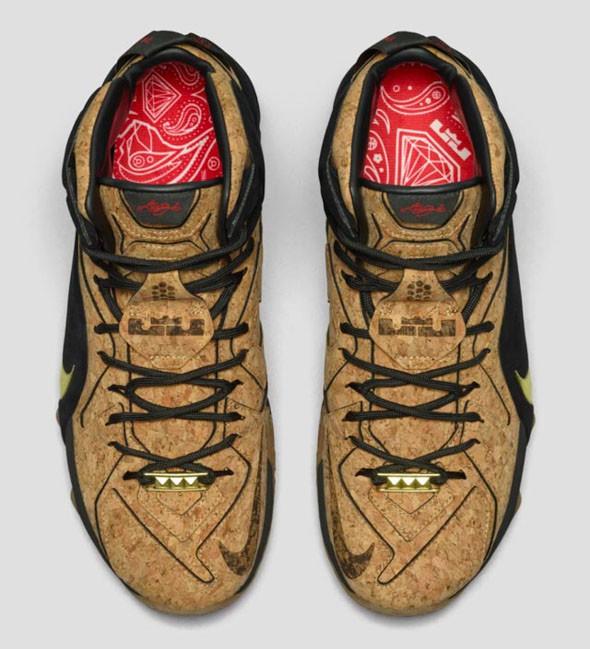 65% Discount Nike LeBron 12 Cork