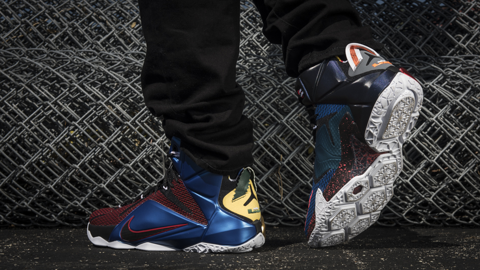 ... nike lebron 12 what the 2 ... 79182dcfd