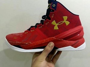 The Under Armour Curry Two Will Come in Red