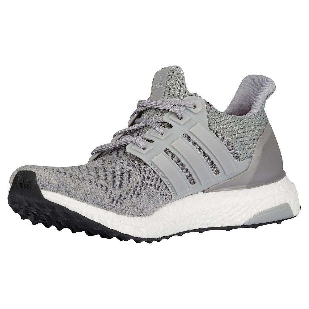 adidas Ultra Boost Grey: Silver Metallic medial