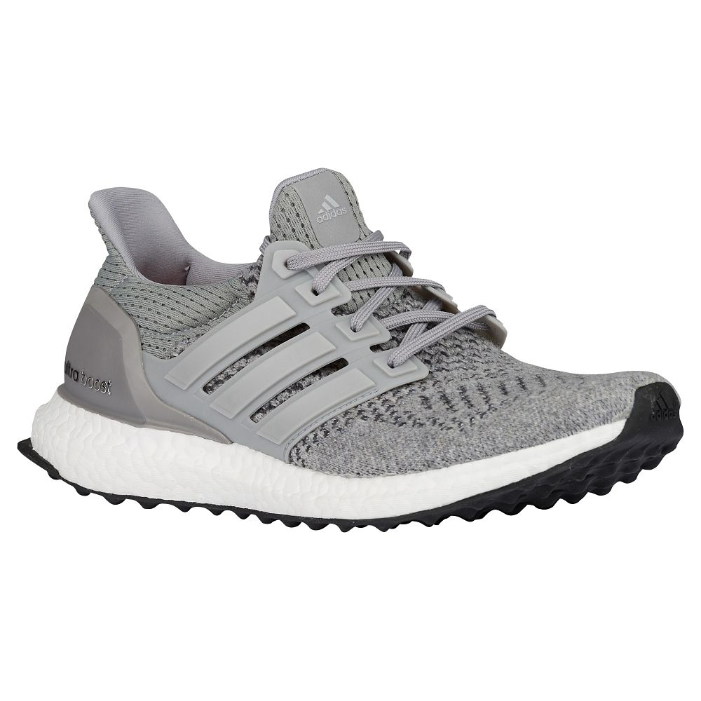 adidas Ultra Boost Grey: Silver Metallic top view WearTesters