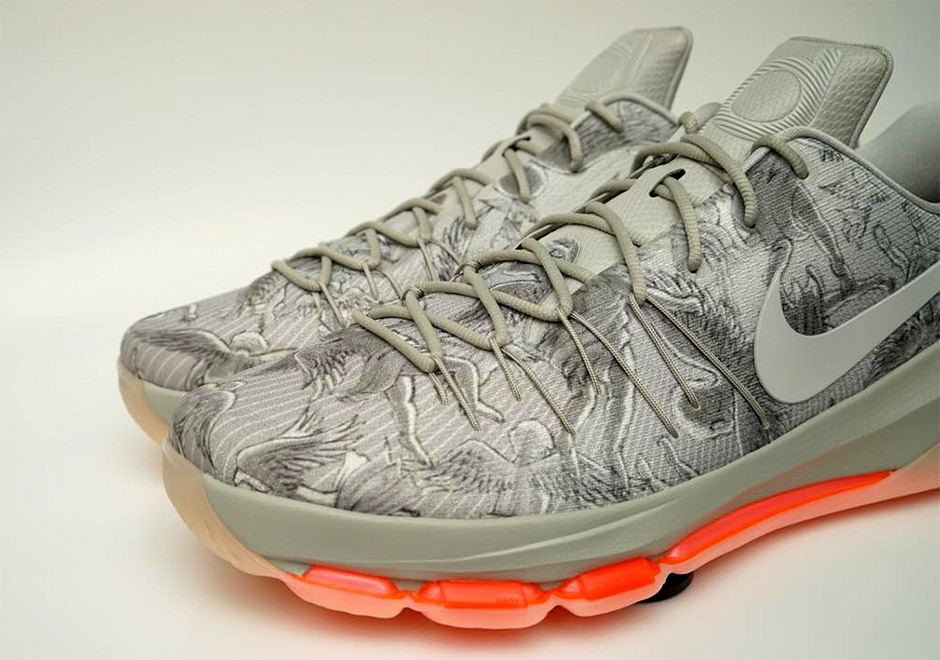 size 40 a02ff edd8f Kevin Durant Takes You to Church with this Nike KD 8 ...