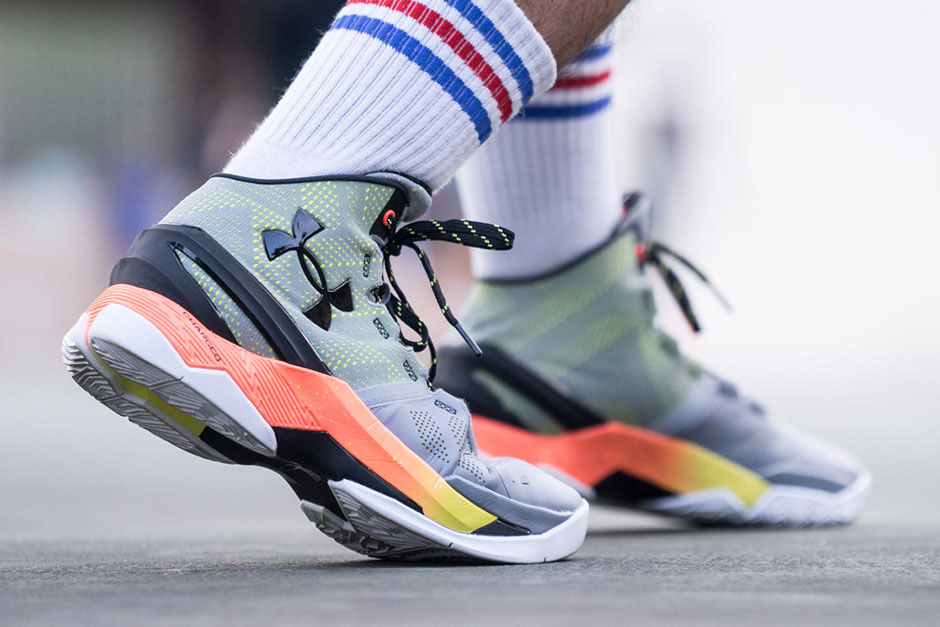 new arrival 71542 c04b1 Get a Detailed Look at the Under Armour Curry Two 'Iron ...