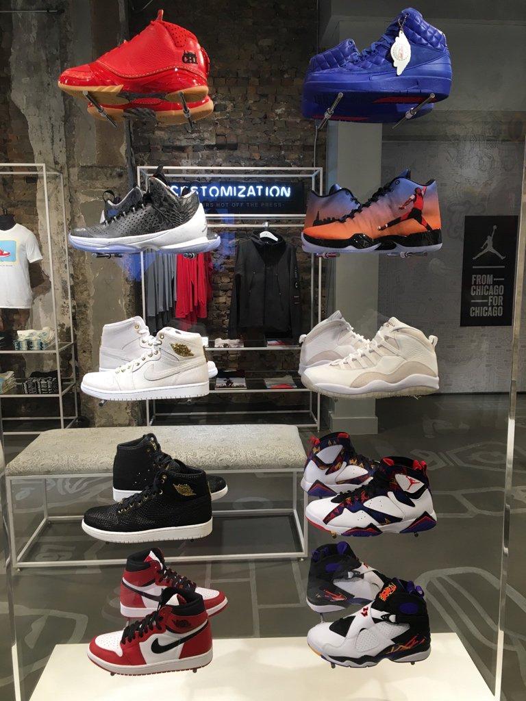 Chicago gets an exclusive air jordan store weartesters for Nike jordan shop