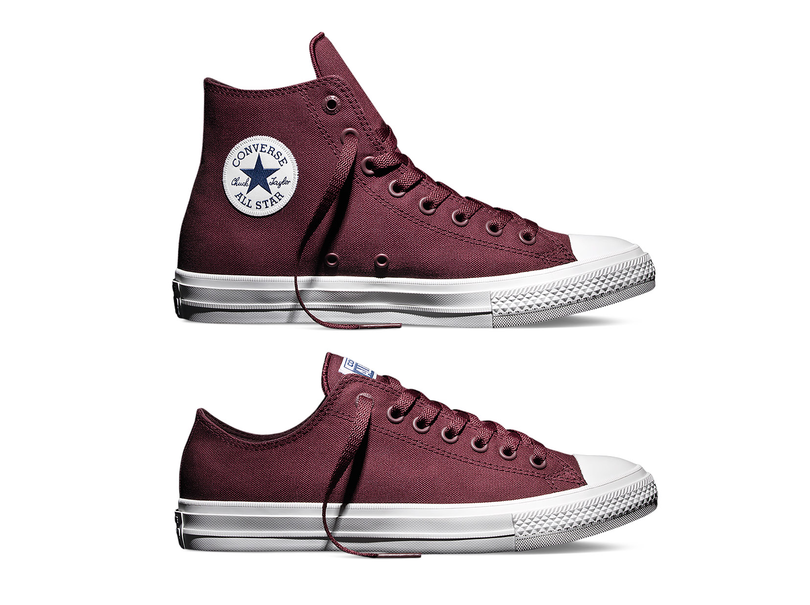 de0fba1afe78 Converse Chuck Taylor All Star II  Bordeaux  - Available Now - WearTesters