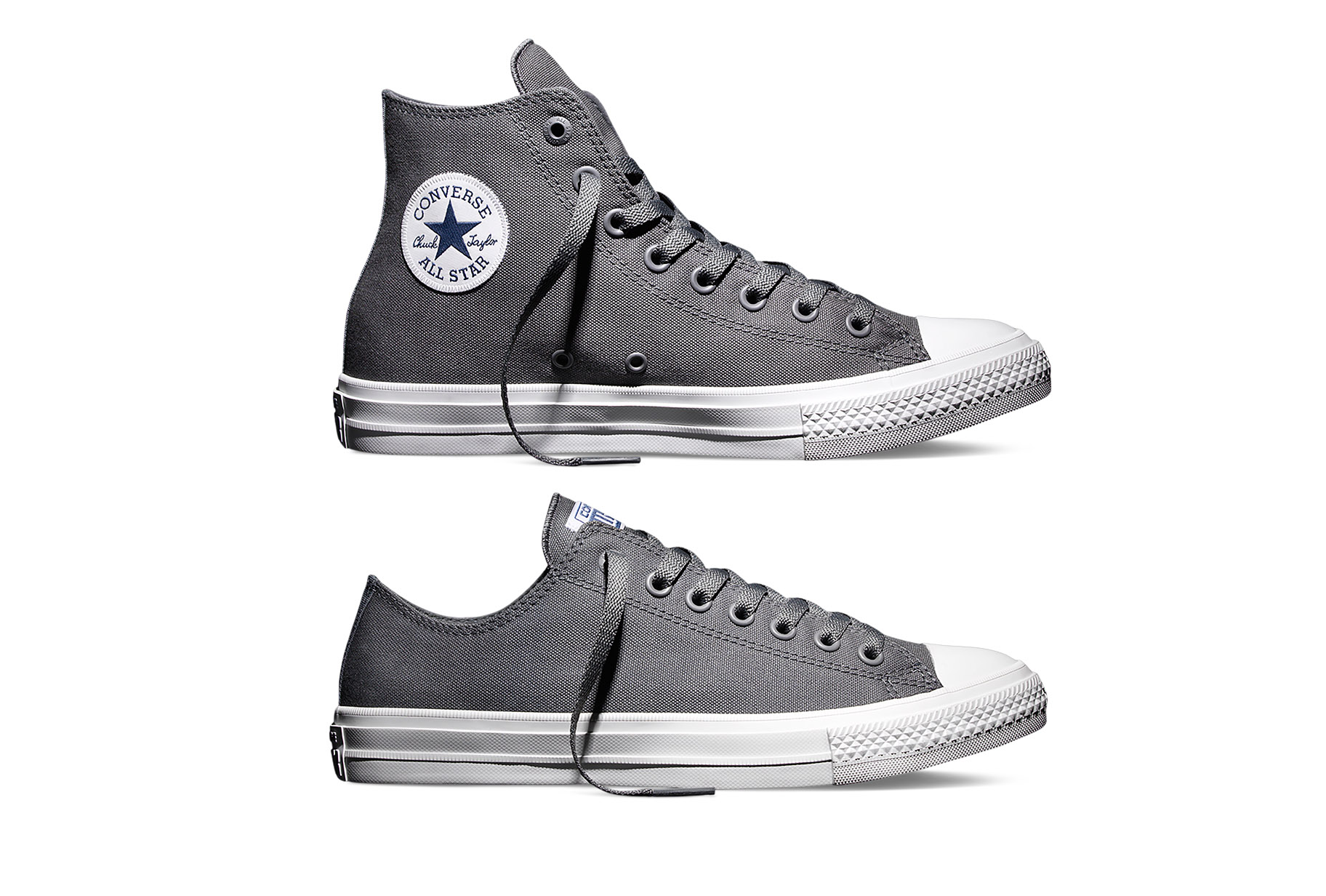 bfc55a180e5 Converse Chuck Taylor All Star II  Charcoal  – Available Now ...