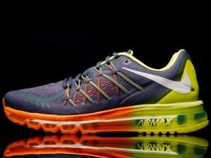 Nike Air Max 2015 Charcoal Volt Orange