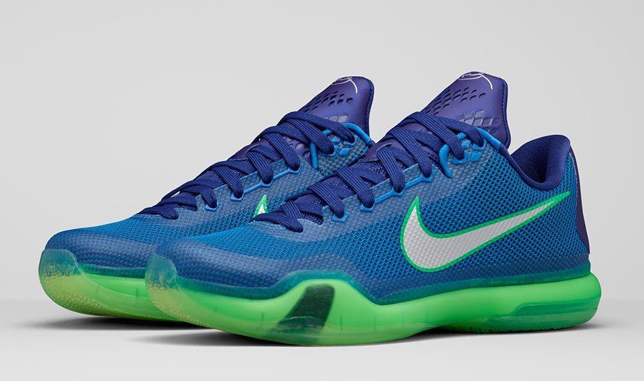 Nike Kobe X 'Emerald City'