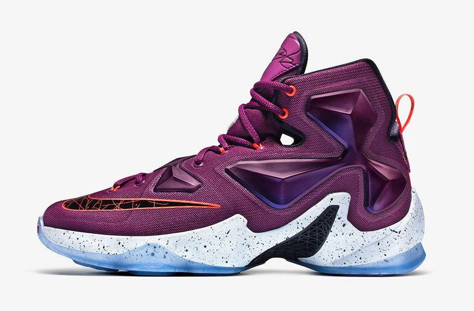 pretty nice 38bfa 20327 The Nike LeBron 13 Just Launched in Mulberry - WearTesters