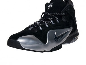The Nike Zoom Penny 6 is Now Available in Black Silver 1