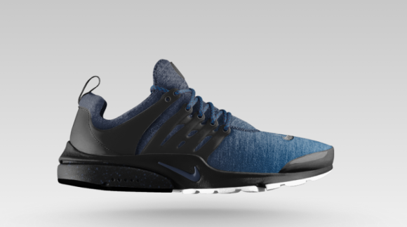 New Nike Air Presto Suede Blue Green Shoes