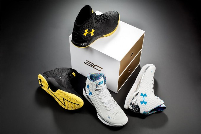 Under Armour Curry One 'Championship Pack' 2