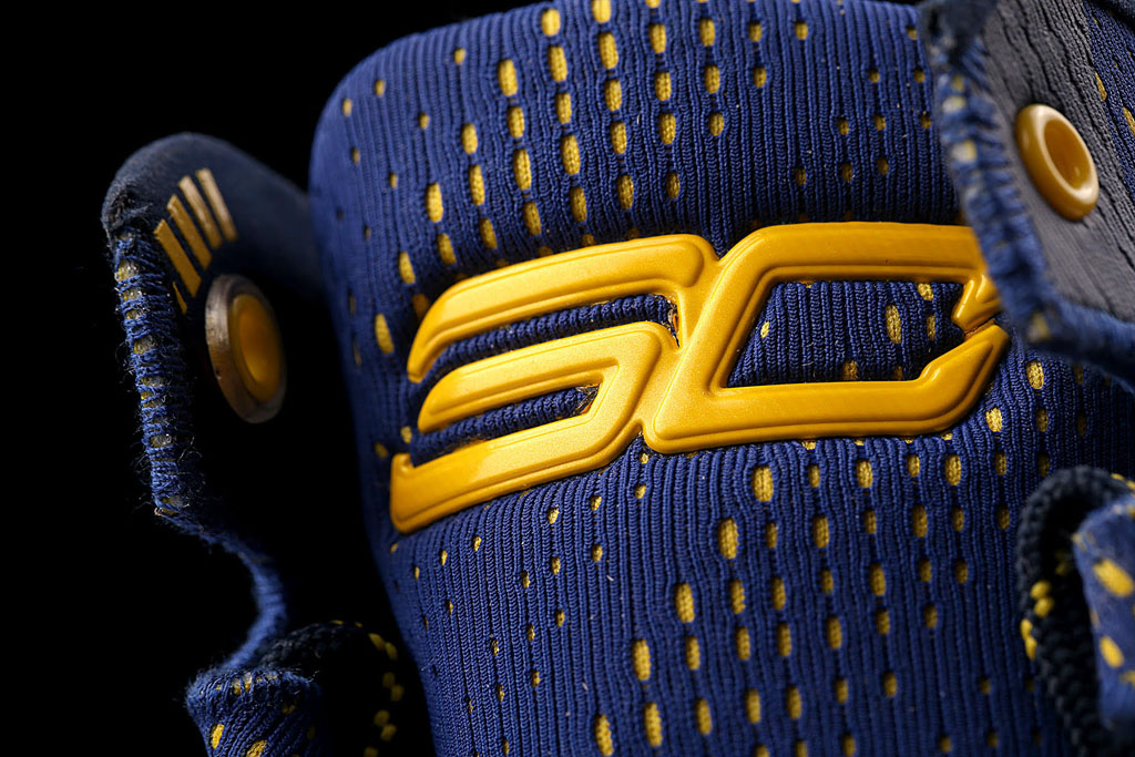 Under Armour Curry Two 2 Dub Nation tongue logo
