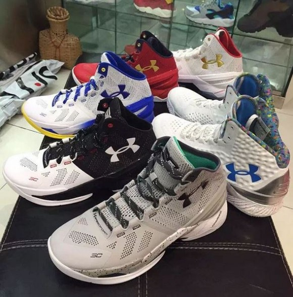 Under Armour Curry Two colorways  1