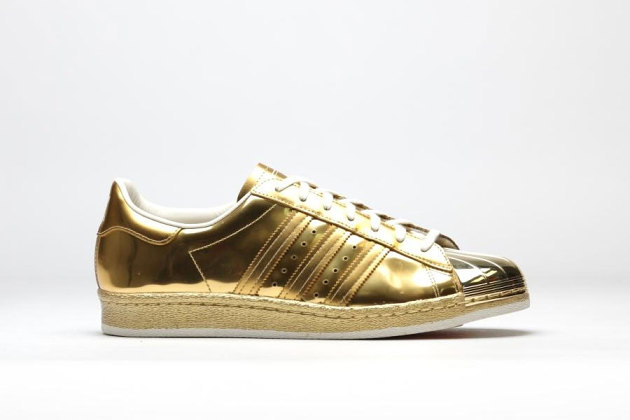 Adidas Superstar Gold Silver
