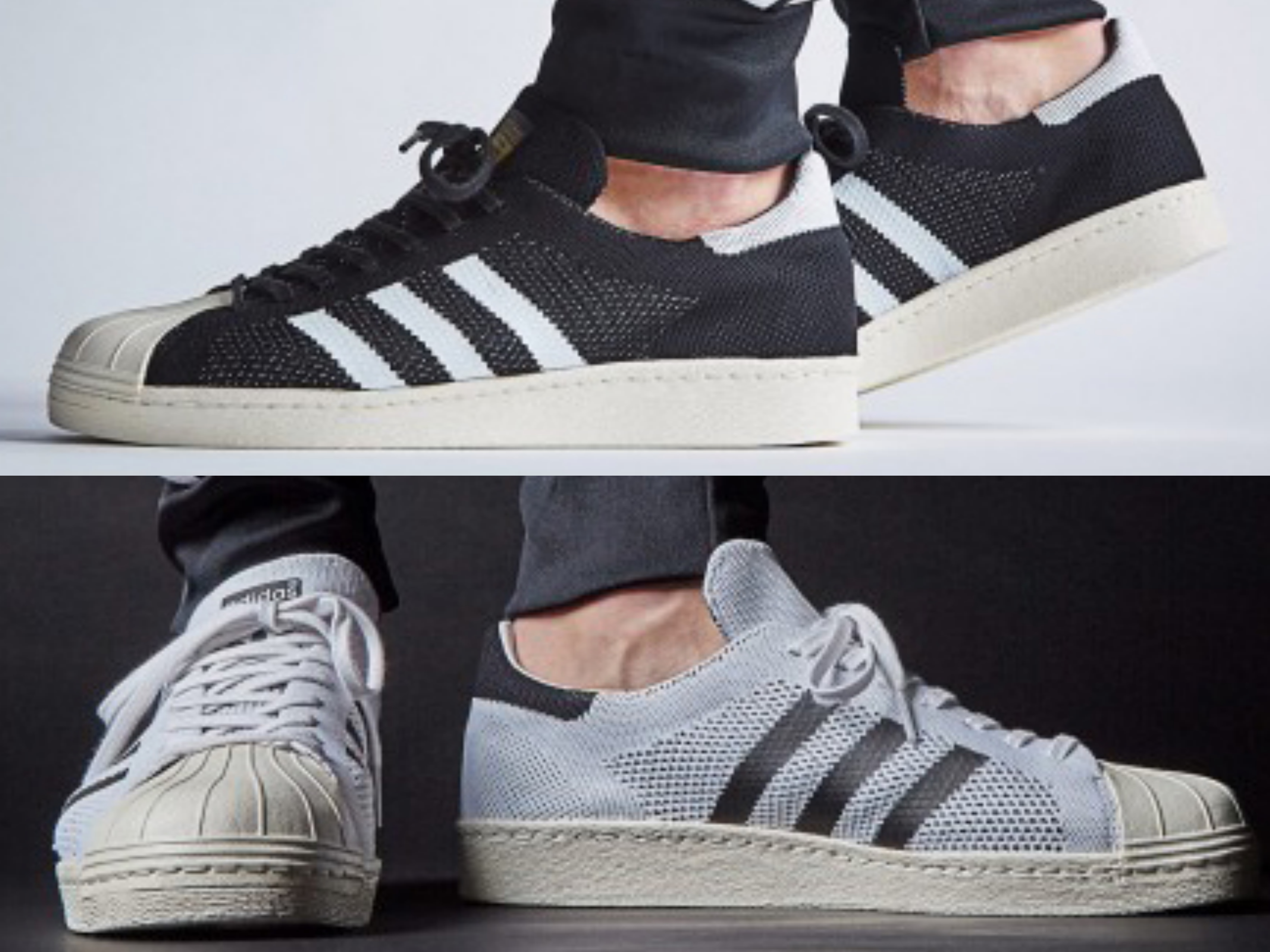The adidas Superstar 80s Primeknit Just Dropped