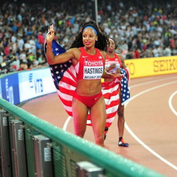 Natasha Hastings Interview: Plans After the '16 Olympics ...