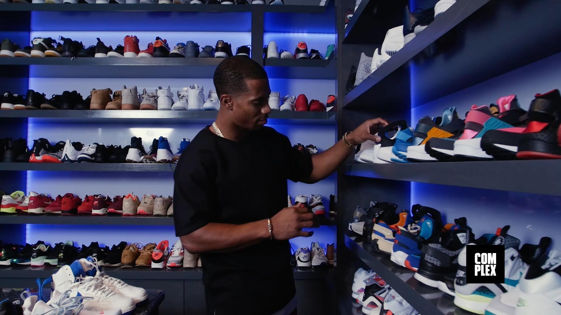 COMPLEX Goes Inside Victor Cruzs Insane Sneaker Closet