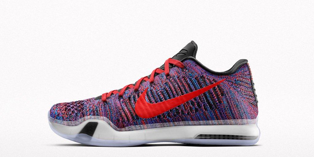 Nike Kobe X Elite Low mambacolor