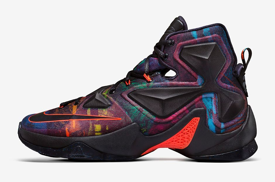 Nike LeBron 13 'Akronite Philosophy' lateral