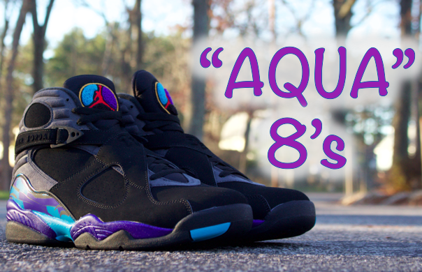 air jordan 8 aqua on feet 2015 return