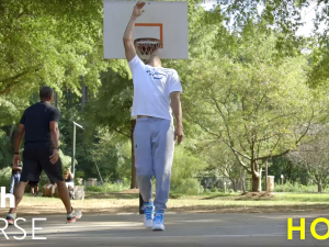 Steph Curry Duels His Dad Dell in a Game of H.O.R.S.E.-2