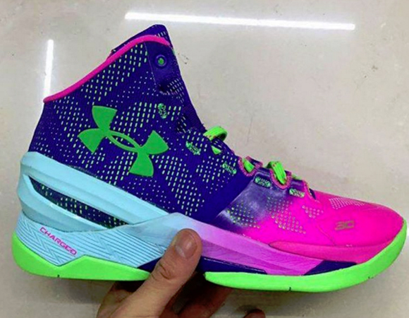 Under Armour Curry 2 'Nothern Lights