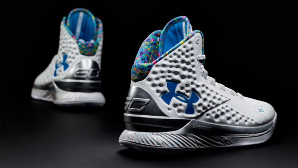 Under Armour Curry One 'Splash Party
