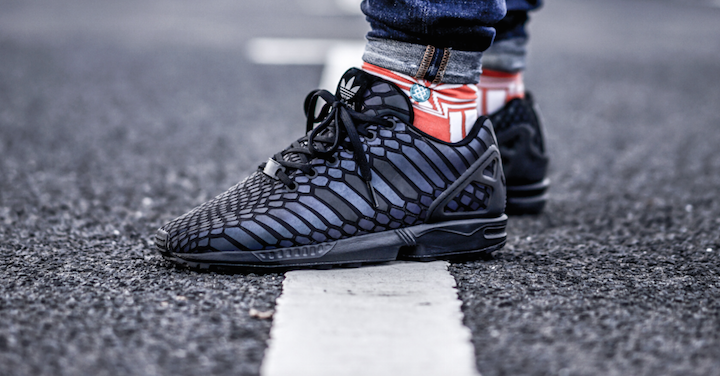 buy online 999f7 b6612 Adidas Zx Flux Xeno Triple Black softwaretutor.co.uk