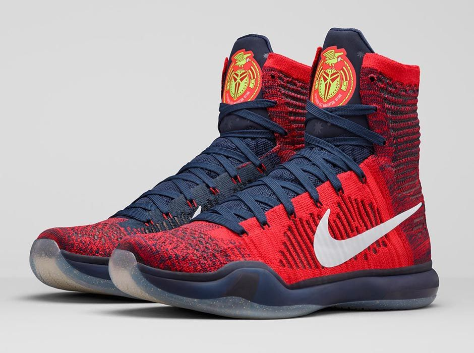 Red Kobe X Shoes
