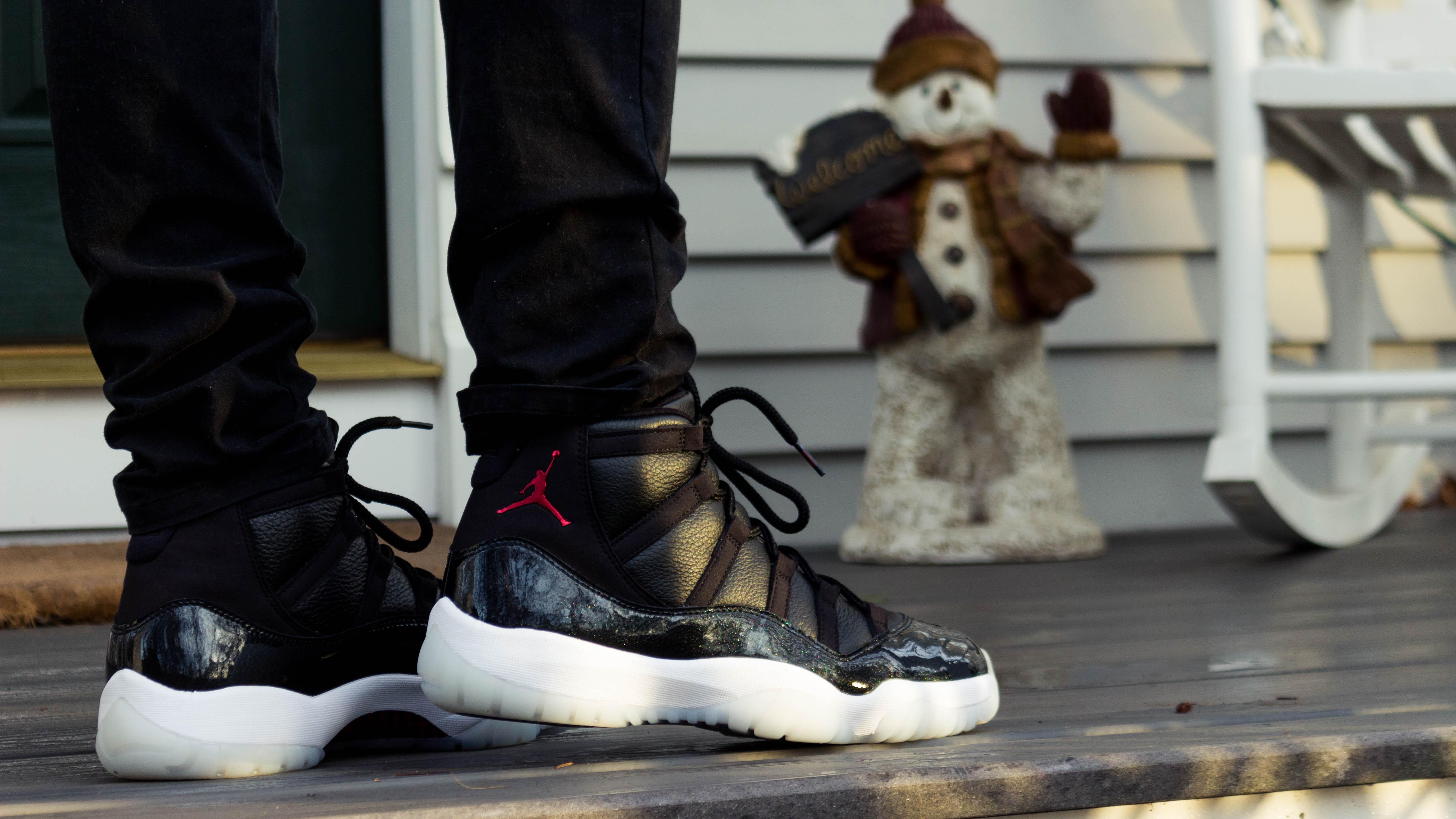 Jordan 11 72-10 On Feet