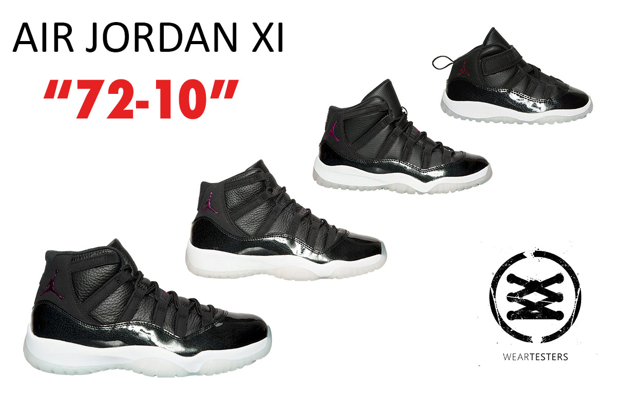 quality design b45f0 91a67 Where to Cop the Air Jordan 11 Retro '72-10' - WearTesters