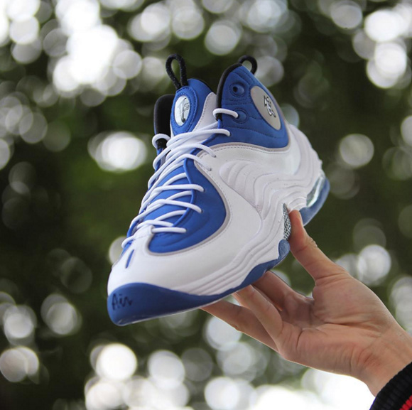 Get Up Close and Personal with the 2016 'Atlantic Blue' Nike Air Penny 2 Retro Main