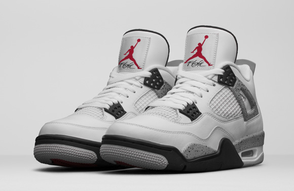 Get an Official Look at the Remastered Air Jordan 4 Retro in White Cement 6