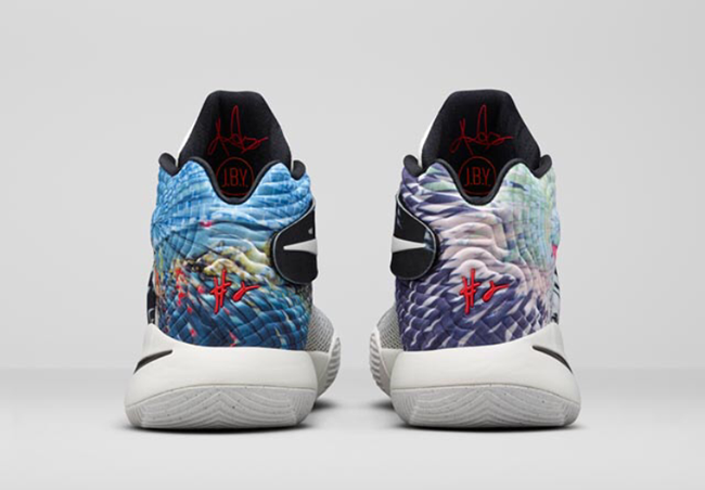 Nike Kyrie 2 Effects heel view