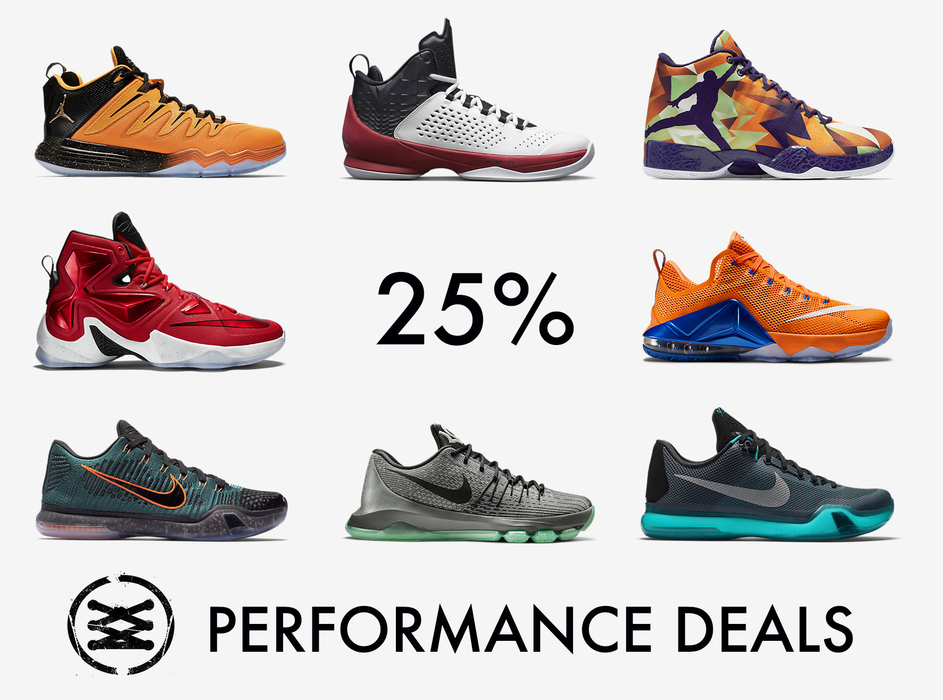 Performance Deals  25% Off Clearance Basketball Shoes at Nike ca48e3ad5