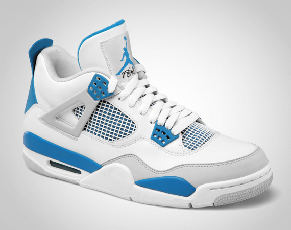 new arrivals 975c1 33b6a air jordan retro 4 blue