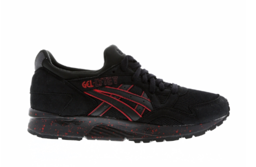 asics gel lyte v black red 4