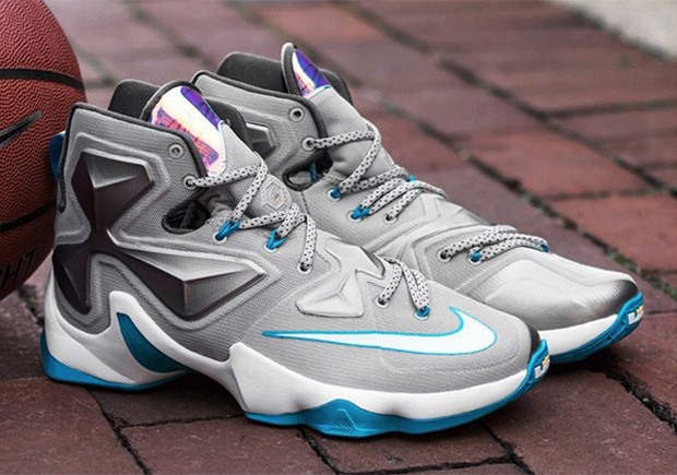 nike lebron 13 all blue