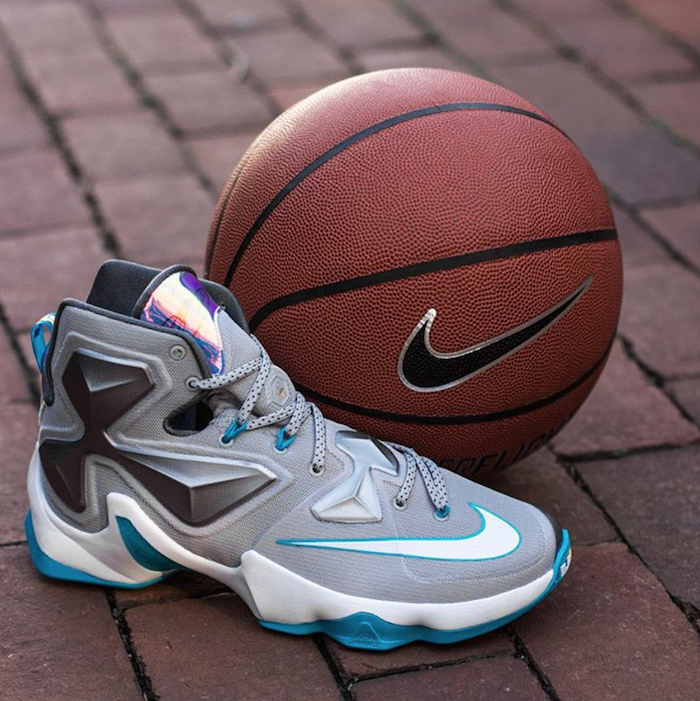 best service 6ece4 fb5c3 The Nike LeBron 13 'Blue Lagoon' Dropped Early & Below ...