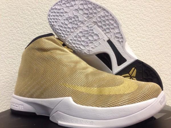 Nike Zoom Kobe Icon in Metallic Gold