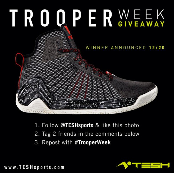 tesh sports trooper giveaway