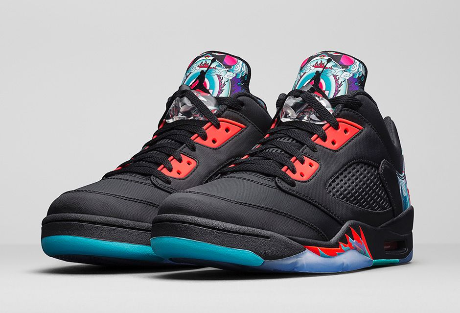 Ai Jordan 5 Retro Chinese New Year CNY